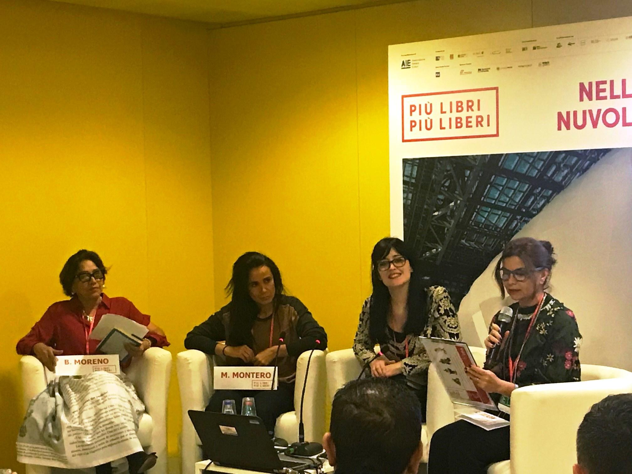 Blanca Moreno, Marta Montero, Marisa Martínez Pérsico y Rosa Jijón,